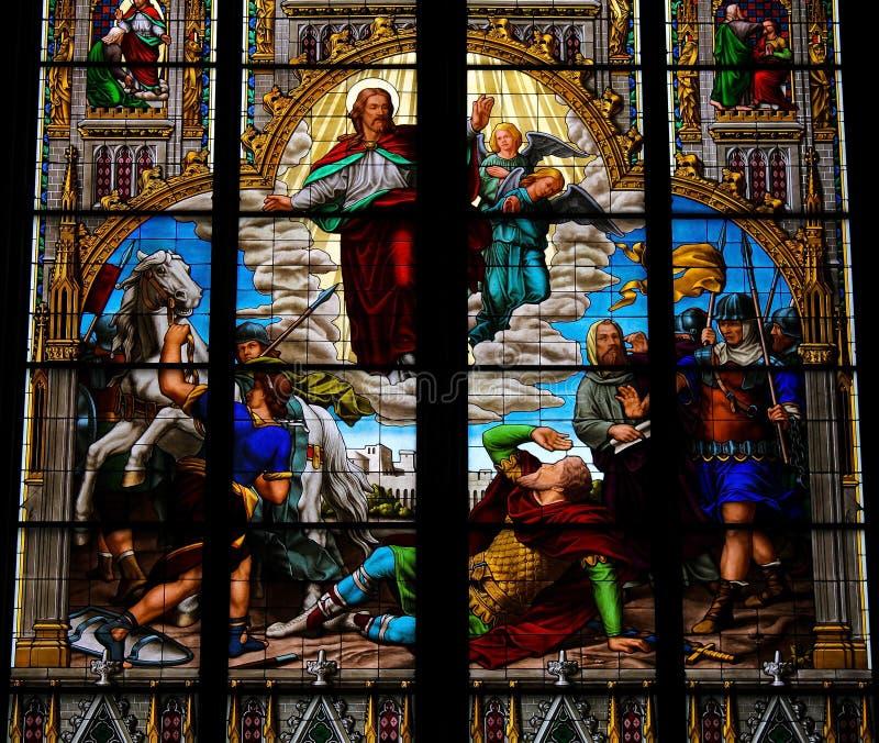 Conversione di Saint Paul immagine stock