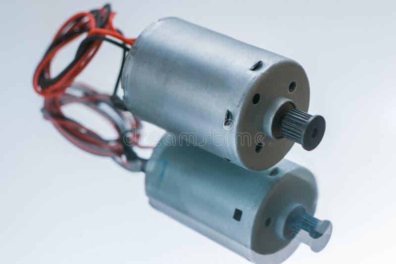 Conversor bonde cilíndrico da energia do motor imagem de stock