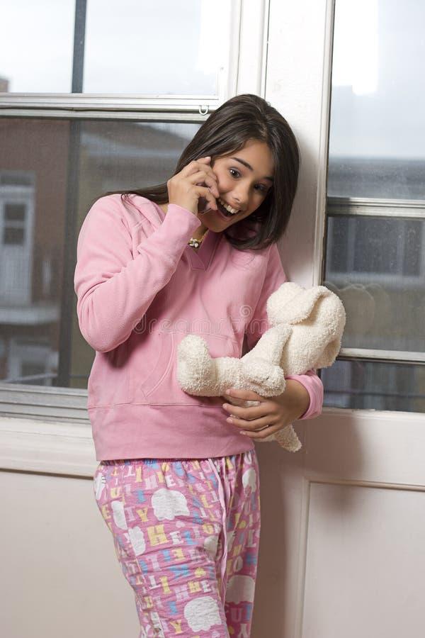 Converstation adolescente imagens de stock royalty free