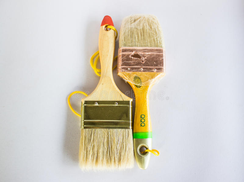 Convert paint On a white background stock images
