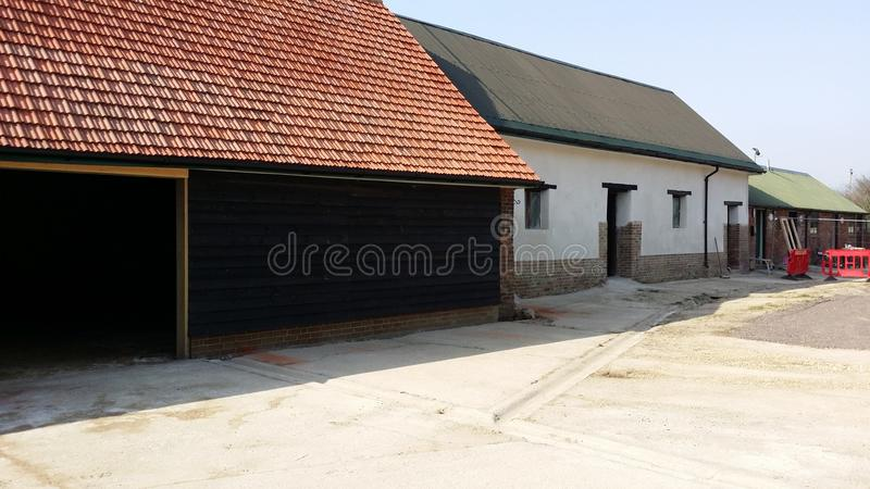 Converted barns royalty free stock images