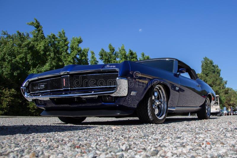 Convertibel Mercury Cougar XR7 royalty-vrije stock foto