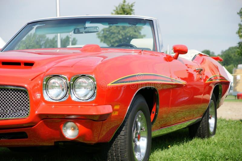 Convertibel Pontiac GTO royalty-vrije stock foto