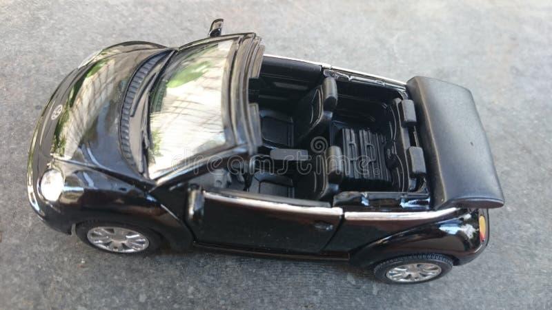 Convertibel Volkswagen New Beetle royalty-vrije stock afbeeldingen
