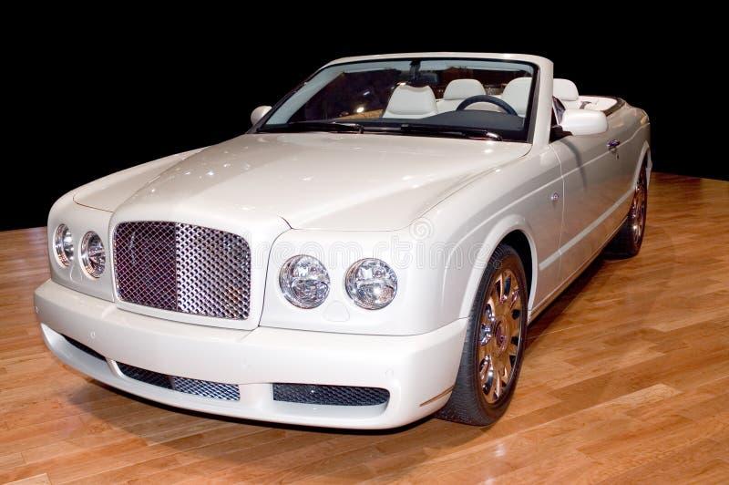 Convertibele luxe royalty-vrije stock afbeelding
