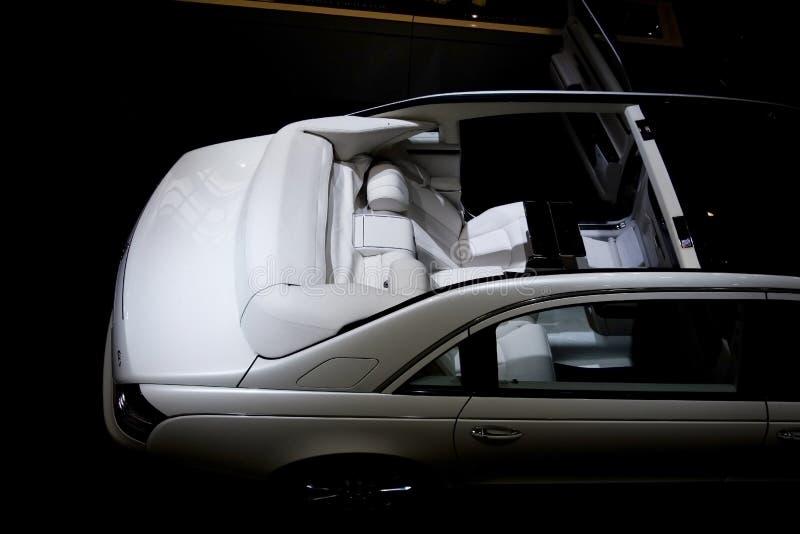 Convertibele sportwagen royalty-vrije stock foto's