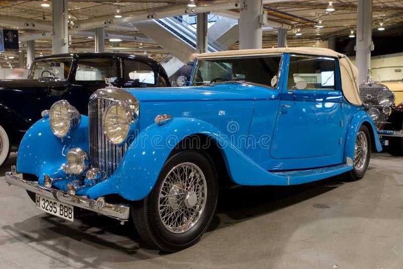 Convertibile 1936 di Bentley fotografia stock libera da diritti
