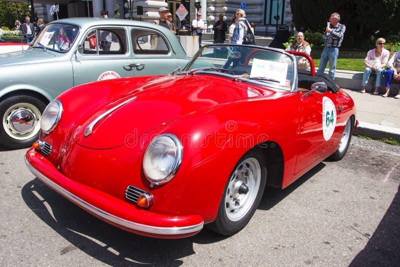 Convertible 1959 de Porsche fotografia de stock