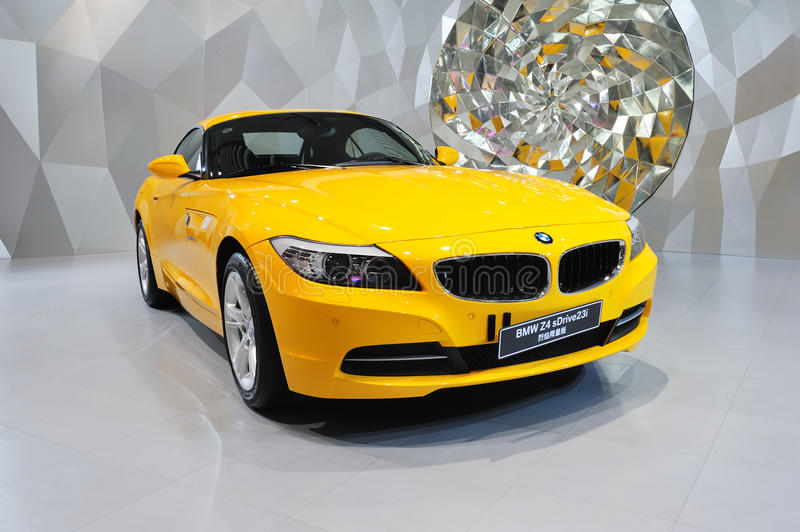 Convertible BMW Z4 car stock images
