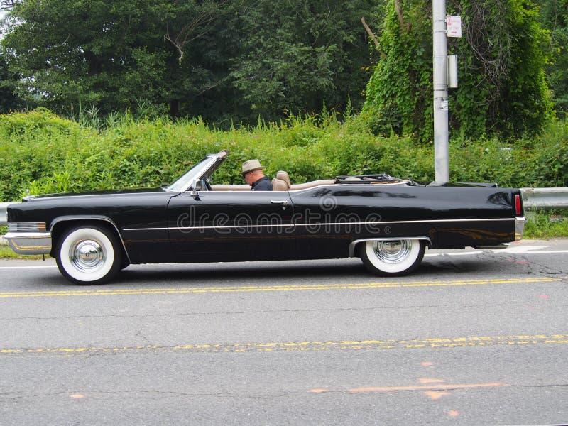 Convertible clássico de Cadillac fotografia de stock royalty free