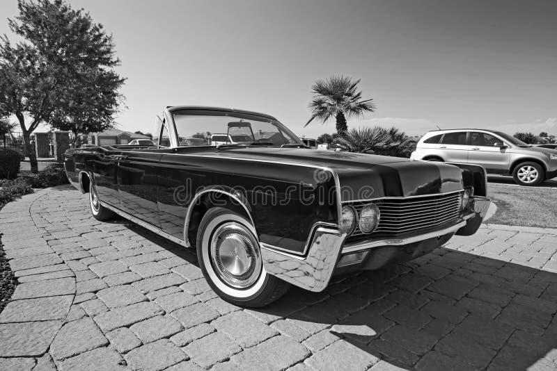 Convertible classique de Lincoln images stock