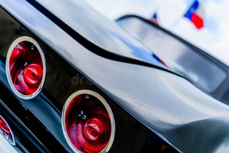 1962 convertible corveta fotos de stock