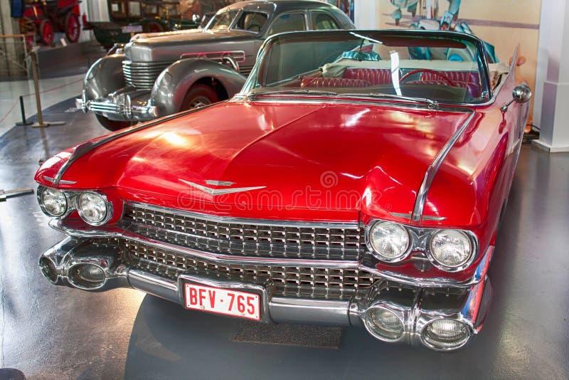 Convertible da série 62 de Cadillac fotografia de stock royalty free