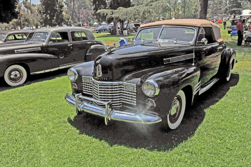 Convertible da série 62 de Cadillac fotos de stock