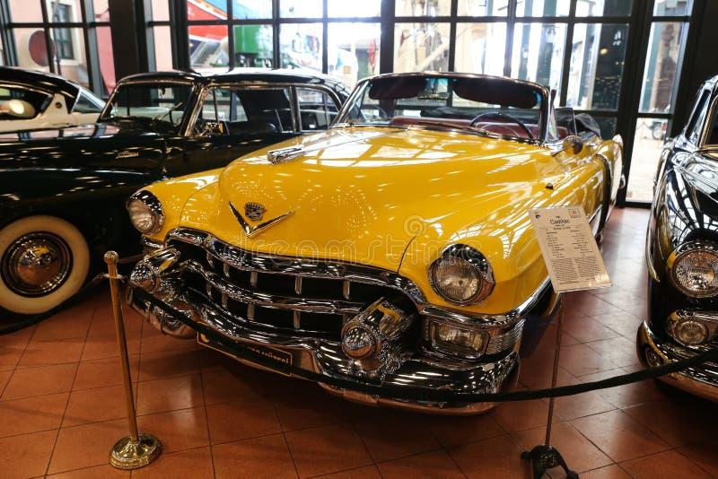 Convertible 1953 da série 62 de Cadillac fotos de stock royalty free