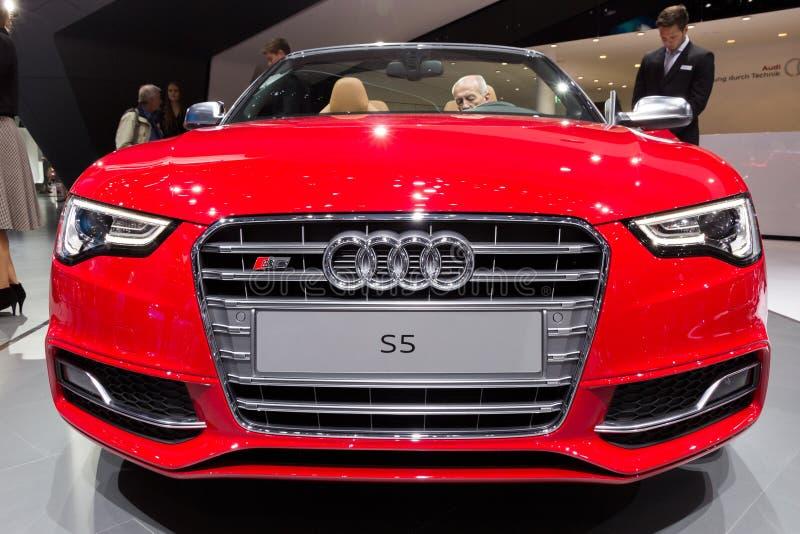 Convertible 2016 de Audi S5 fotos de stock