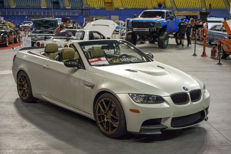 Convertible de BMW images stock