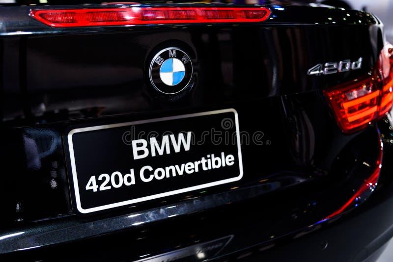 Convertible de BMW 420d fotos de stock