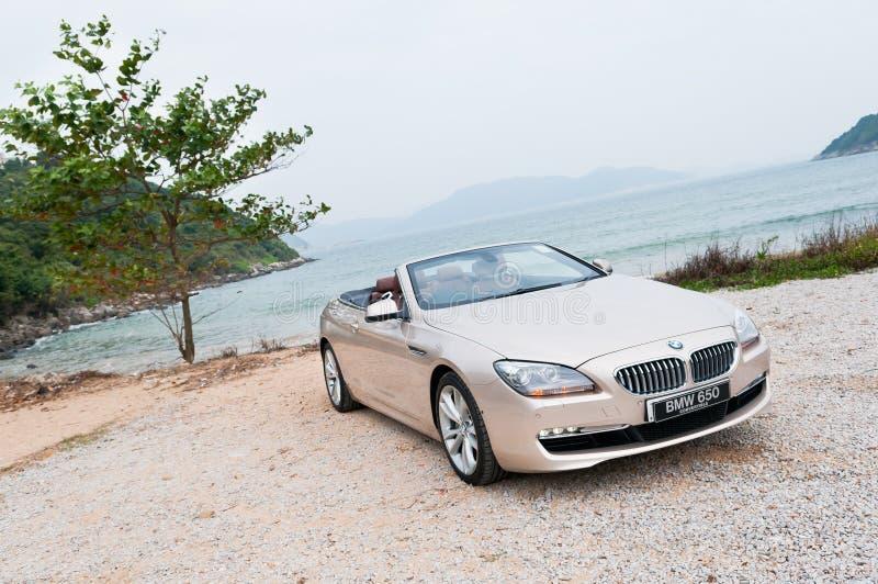 Convertible de BMW 650i fotos de stock royalty free