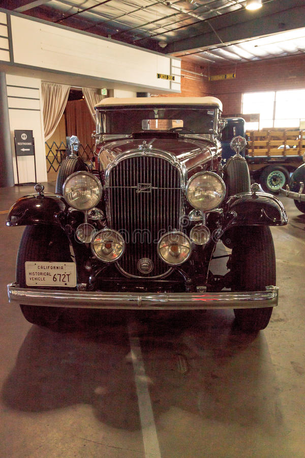 Convertible 1932 de Buick imagem de stock royalty free