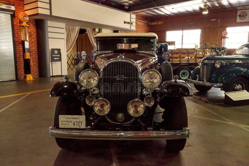 Convertible 1932 de Buick foto de stock royalty free