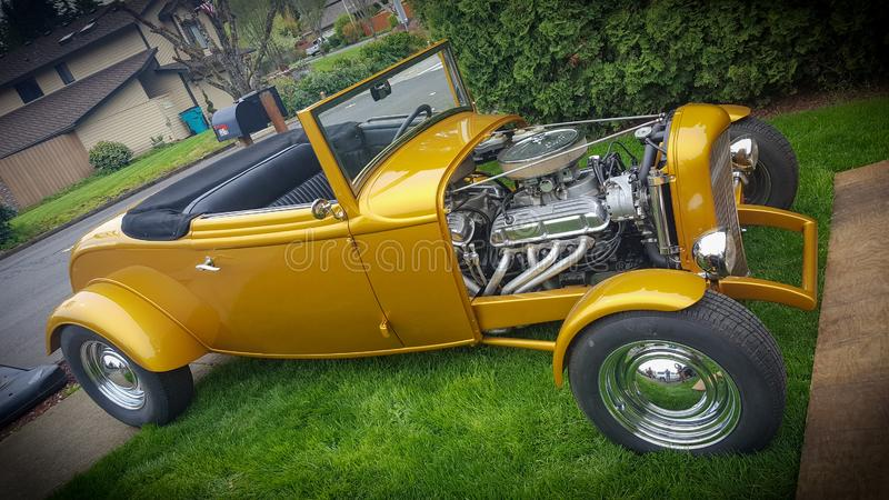convertible 1932 de cabriolet 2 image libre de droits