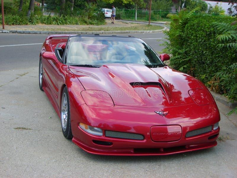 Convertible de Chevrolet Corvette imagem de stock