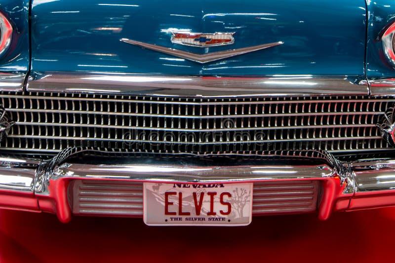 Convertible de Chevrolet Impala foto de stock