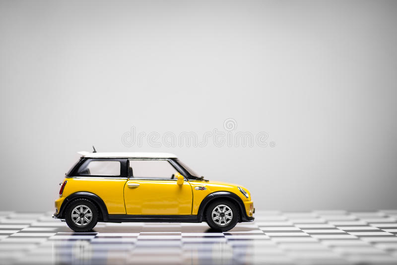 Convertible de Mini Cooper S fotografia de stock