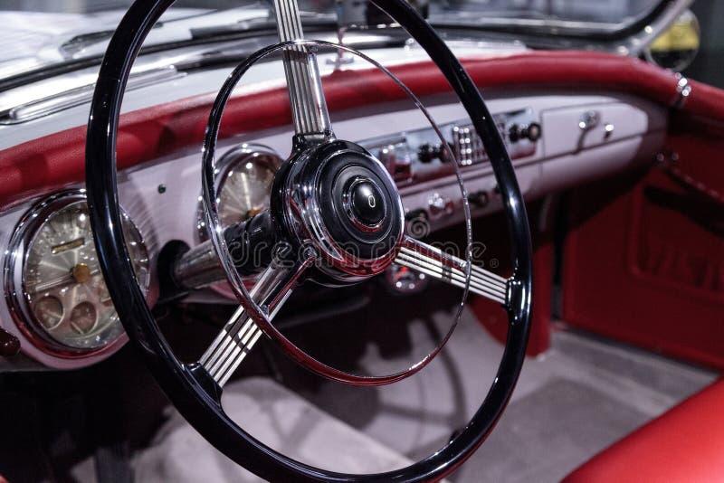 Convertible 1953 de Nash-Healey da prata pelo Farina de Pinin imagens de stock royalty free