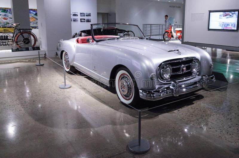 Convertible 1953 de Nash-Healey da prata pelo Farina de Pinin imagem de stock