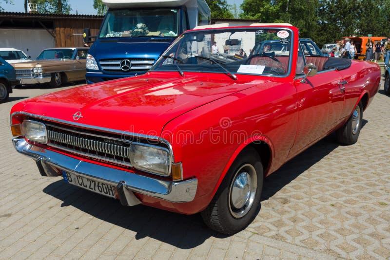 Convertible de Opel Rekord C foto de stock royalty free