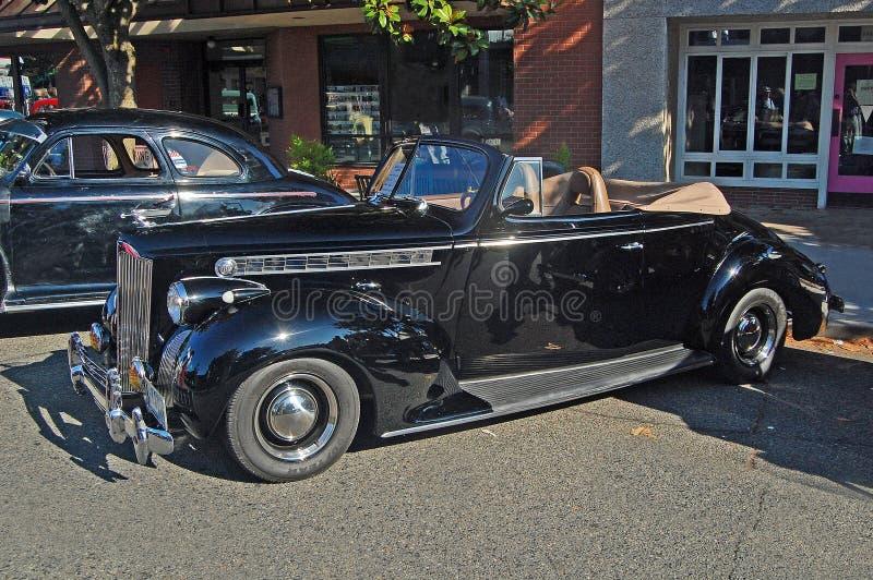 Convertible 1940 del automóvil descubierto de Packard 120 foto de archivo