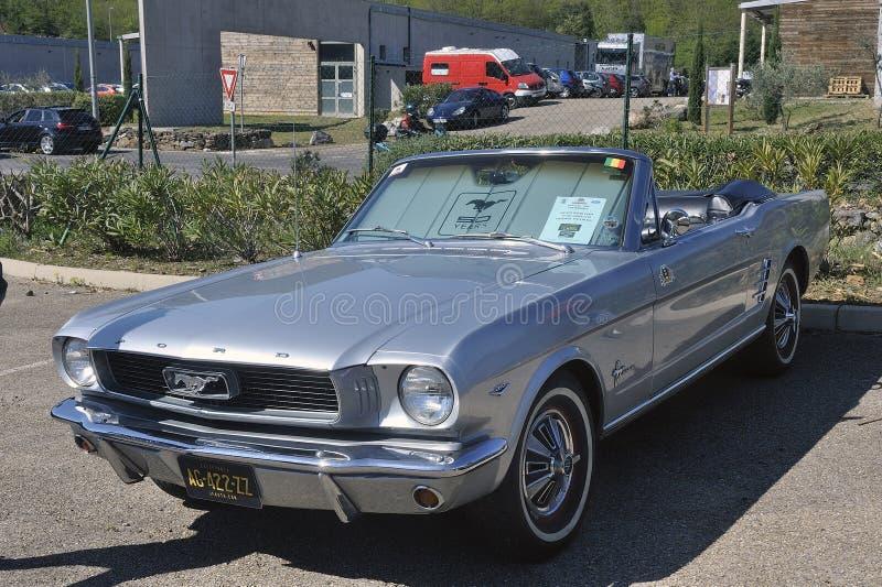 Convertible do mustang de Ford imagem de stock royalty free