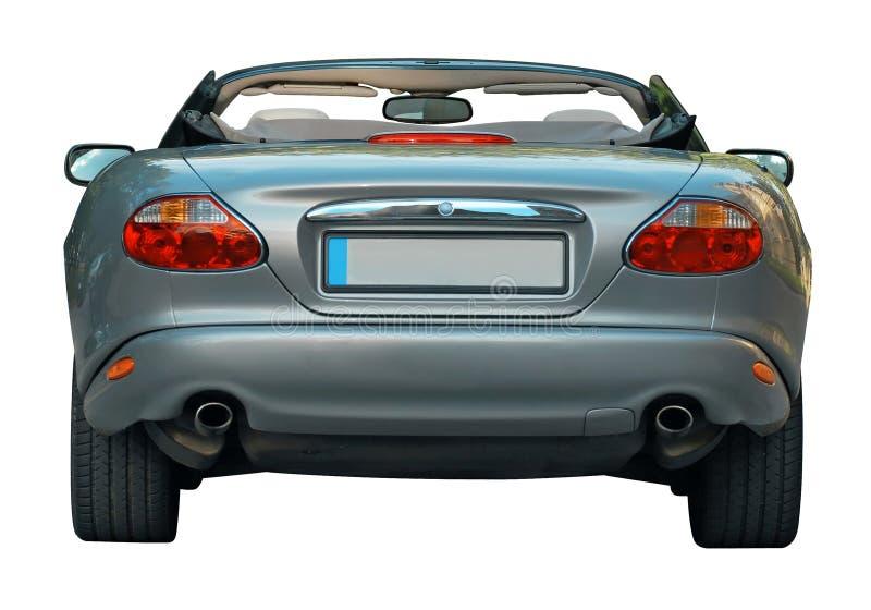 Convertible english car back stock photos
