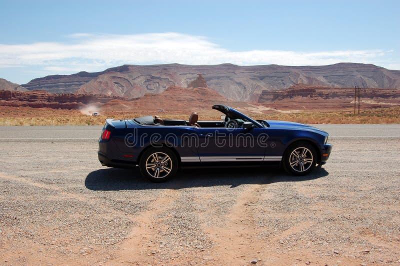 Download Convertible Sport Car In Utah Desert Stock Image - Image: 20947125