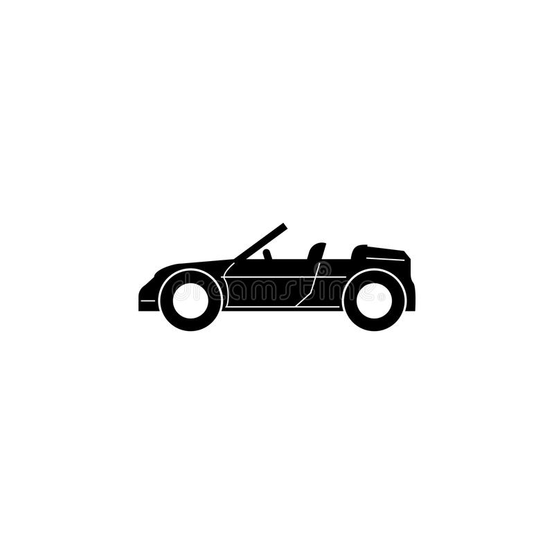 Convertible Sports Car Icon Car Type Simple Icon Transport Element
