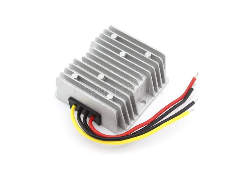 Download Convertisseur De Courant De C.C Photo stock - Image du electrical, blanc: 76082274