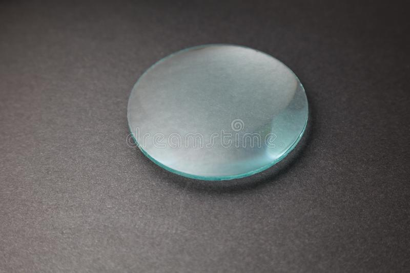 A convex lens royalty free stock images