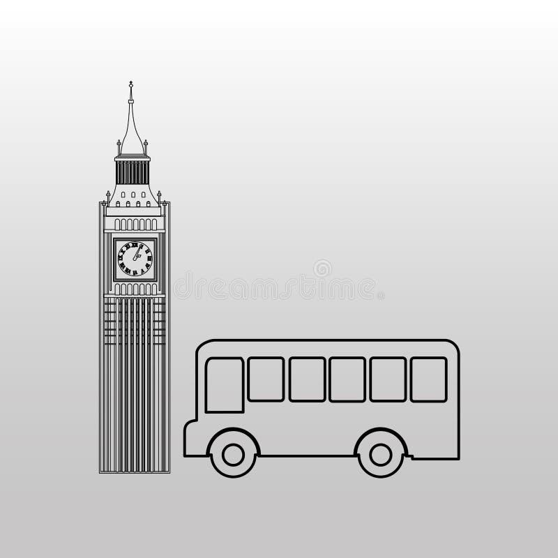 Conveyance concept design. Illustration eps10 graphic royalty free illustration