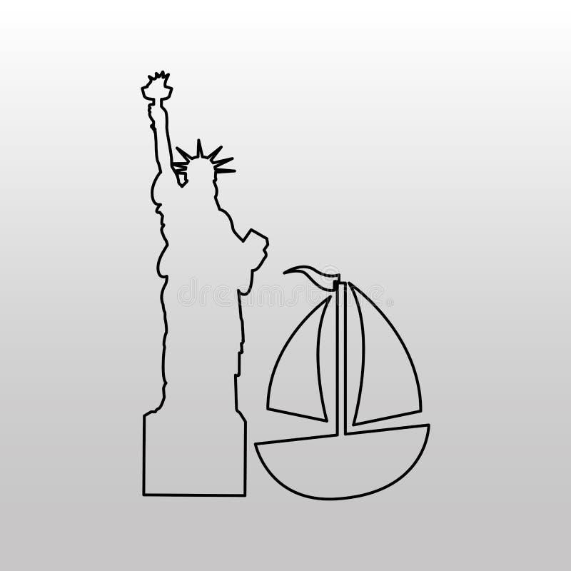 Conveyance concept design. Illustration eps10 graphic stock illustration