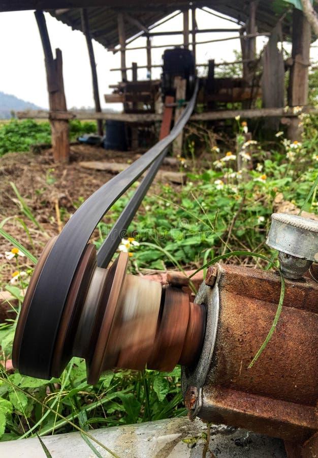Conveyor belt closeup stock photos