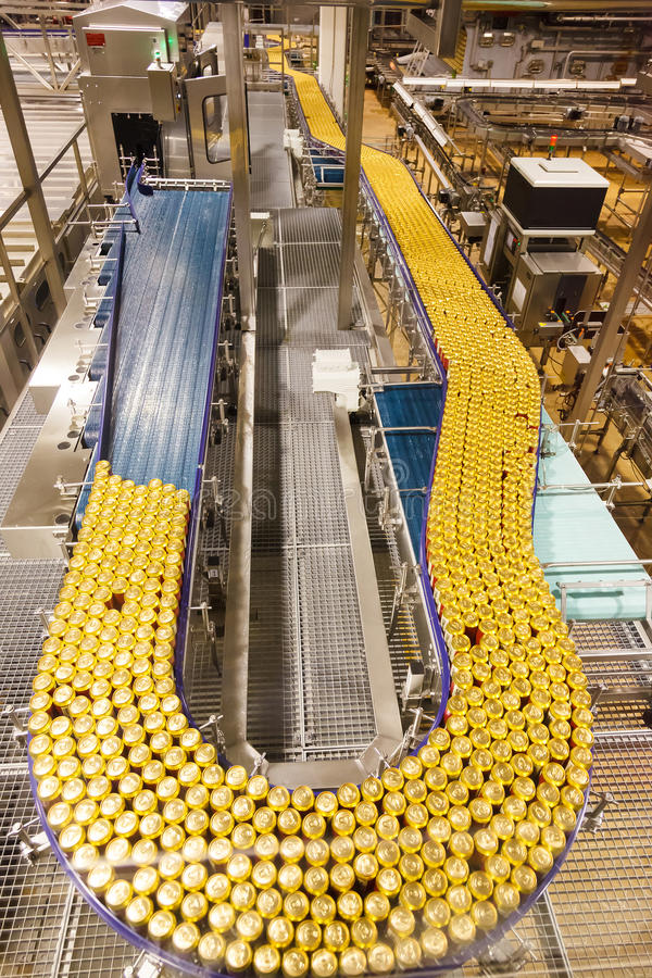 Conveyor belt royalty free stock photos
