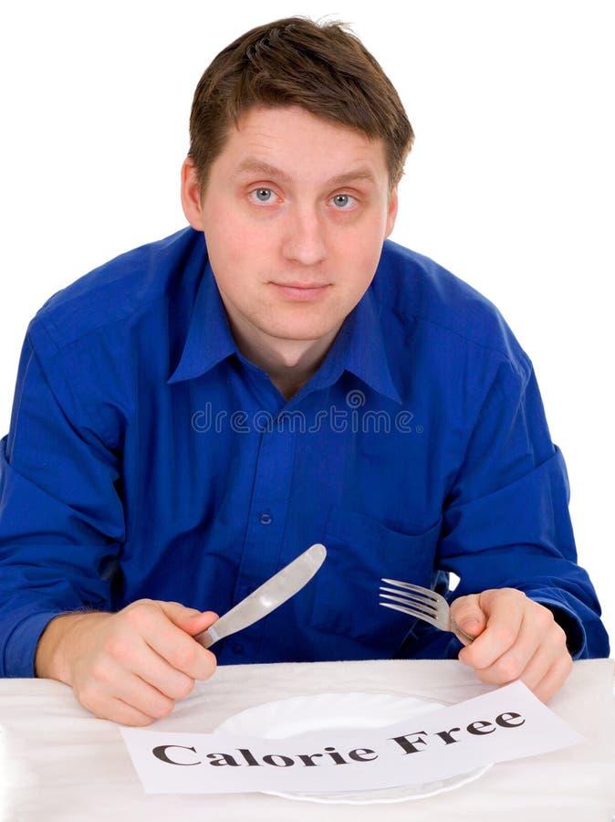 Convidado do restaurante na dieta imagens de stock