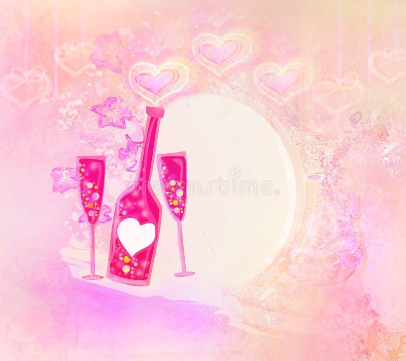 Download Cocktail do aniversário ilustração stock. Ilustração de jantar - 29832846