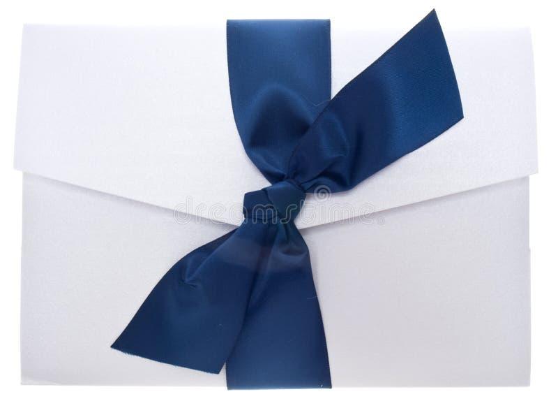 Convite de papel extravagante fotos de stock