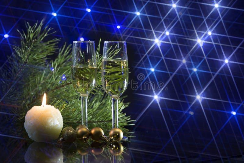 Convite do ano novo fotos de stock