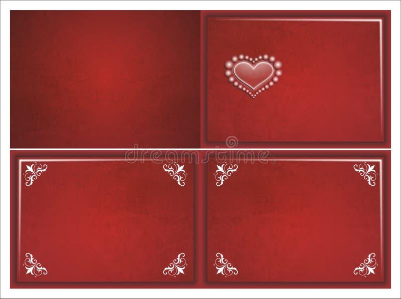 Convite do casamento foto de stock royalty free