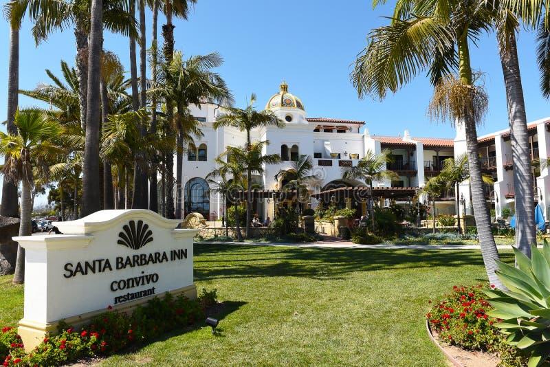 Convivo restaurang på Santa Barbara Inn royaltyfri foto