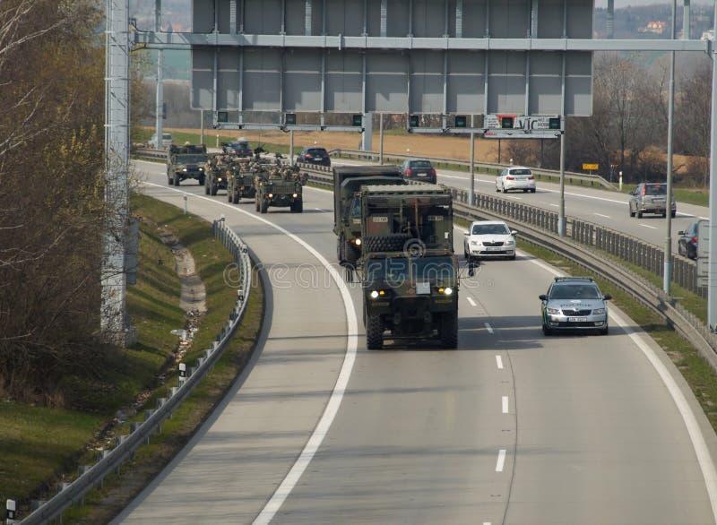 Convoglio di NATO immagini stock
